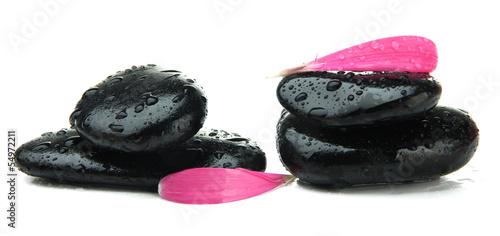 Fototapeten,steine,rosa,blumenblatt,isoliert