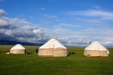 Jurten in Kirgisistan