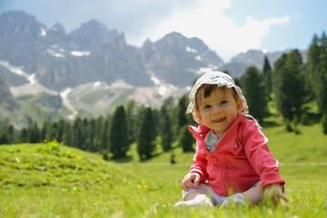 Giulia in montagna