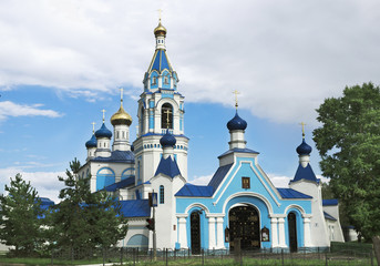 """Church icon of the Virgin """"Joy of All Who Sorrow"""". Russia"""