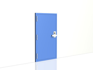 Simple image metal access door