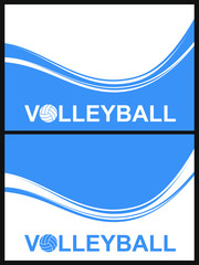 Volleyball. Background