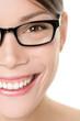 Glasses eyewear woman portrait close up