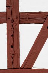 Half timbering wall