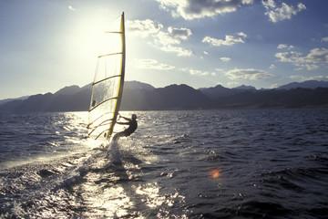 Windsurfer, Dahab, Ägypten