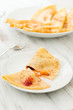 Crepes with fruit