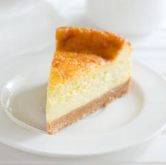 Classic cheesecake.