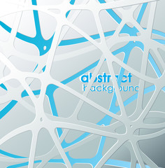 Abstract blue and white mash with place for your own text.
