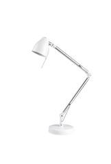 leveling table lamp isolated on white background