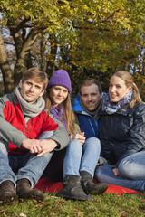 Deutschland, Berlin, Wandlitz, Freunde