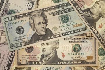 US-Dollar-Banknoten, Vollbild