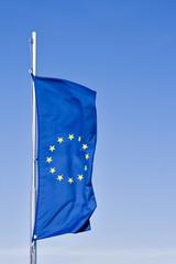 Europa, Flagge der Union Europeaen, close up
