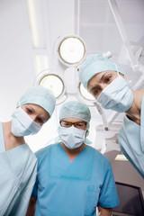 Chirurgie-Team in den OP-Saal!