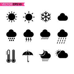 Weather icons set 1