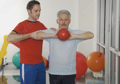 Deutschland, Nürnberg, Physiotherapie, Training
