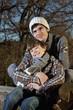 Deutschland, Bayern, Vater umarmt Sohn