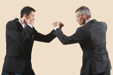 Kung Fu, Sanda, Gedou shi, Zwei Geschäftsleute kämpfen