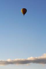 Deutschland, Heißluftballon-Fahrt