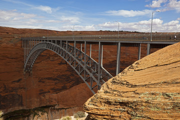 USA, Arizona, Glen Canyon National Park, Brücke