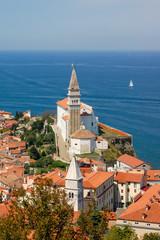 Piran, Slovenia, panorama