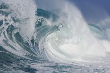 USA, Pazifik, Hawaii, große Welle