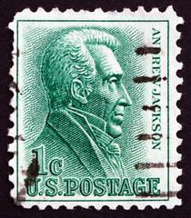 Postage stamp USA 1963 Andrew Jackson