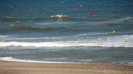 Fast Moving Kites