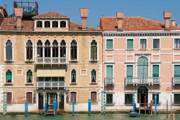 Venetian houses in Sestiere San Marco