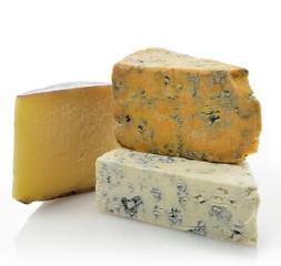 Wedges of Gourmet Cheese