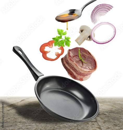 Steak Cooking Ingredients