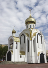 """Church of St. George and Our Lady """"Perishing"""".  Russia"""