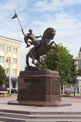 Equestrian statue of St. George