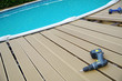 piscine privée - pose de terrasse
