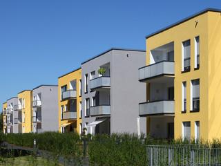 Neubau Wohnsiedlung
