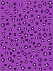purple background with purple flowers