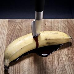 Grunge banana