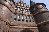Lübeck Holstentor Detail
