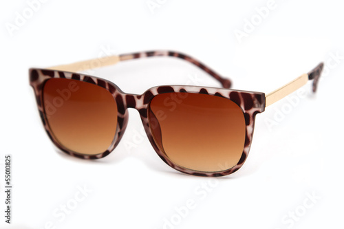 trendy woman sunglasses, isolate