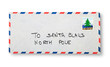 Close-up of  envelope (To Santa Claus)