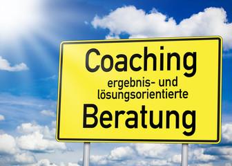 Wegweiser mit Coaching und Beratung