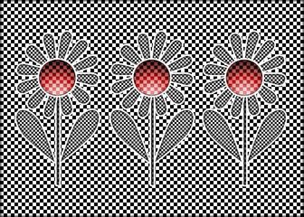 Florale Illusion