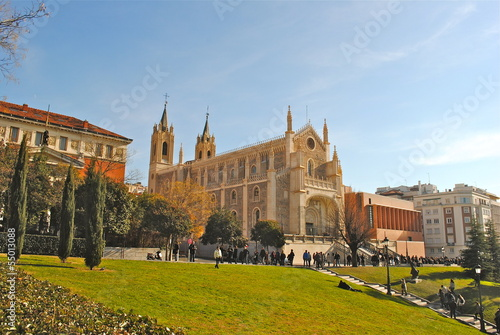 Foto Spatwand Madrid Madrid - Chiesa San Jeronimo El Real - Museo del Prado