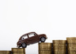Konzept Geld: Steigende Leasingkosten