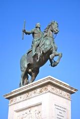 Madrid - Plaza de Oriente - Palazzo reale