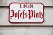 Vienna - Josefs Platz square