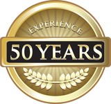 Fifty Years Experience Pure Gold Award