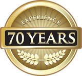 Seventy Years Experience Pure Gold Award
