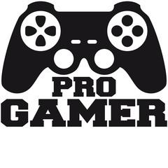 Pro Gamer Logo