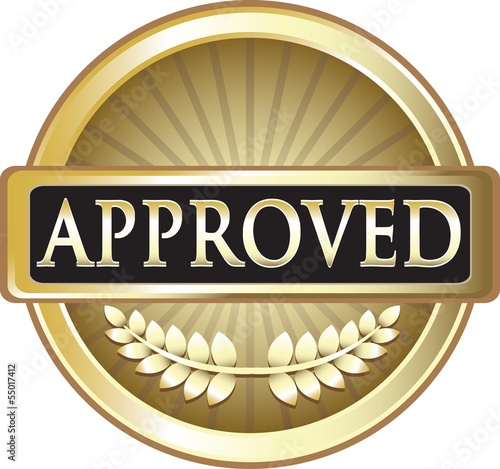 Approved Pure Gold Award