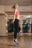 Practice with skipping rope